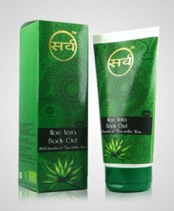 sarv aloe vera body gel 150 ml pack image 2 - 510 x 600