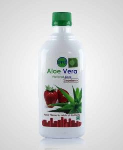 aloe vera flavoured juice 500 ml strawberry - 510 x 600