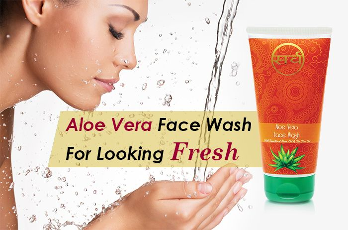 aloe vera face wash for face care india - 700 x 470