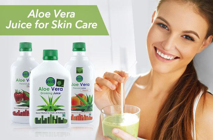 aloe vera juice benefits for skin care