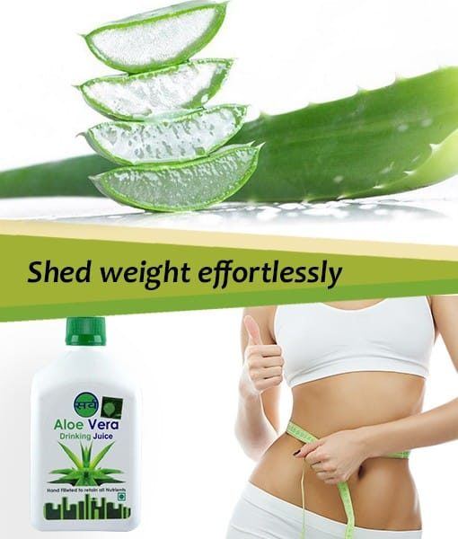 sarv pure aloe vera juice helps with weight loss - 510 x 600