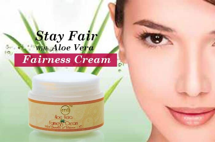 aloe vera cream for fairness - 700 x 470